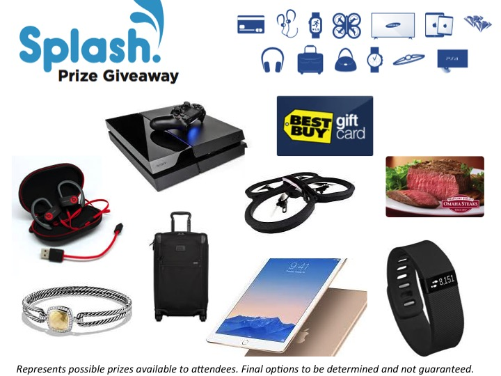 Splash Prizes